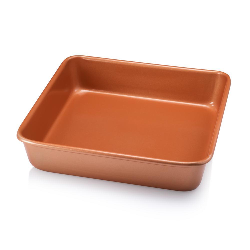 9.5 in. x 9.5 in. Ti-Ceramic Non-Stick Square Baking Pan