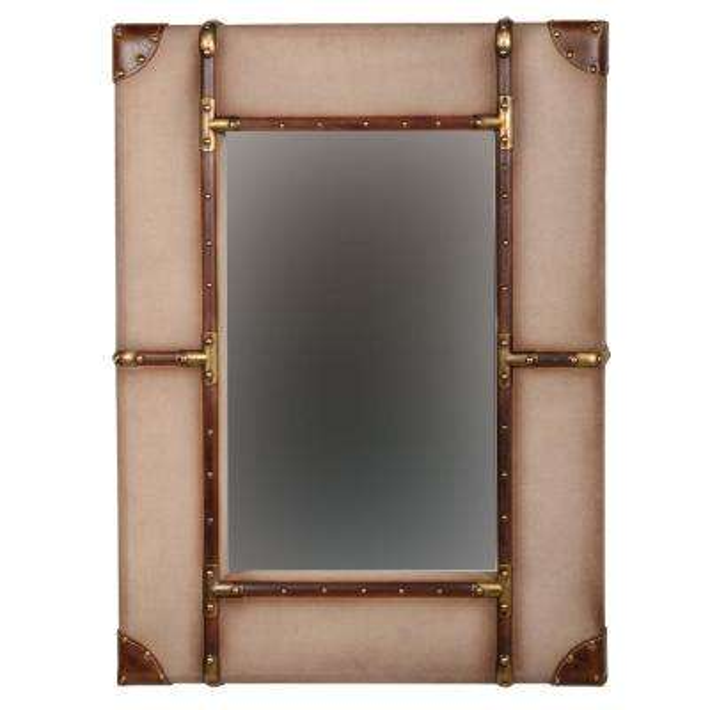 Large Vintage Framed Wall Mirror