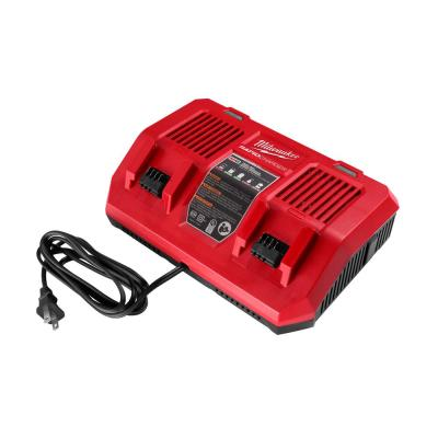 M18 18-Volt Lithium-Ion Dual Bay Rapid Battery Charger