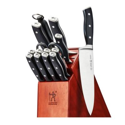 Forged Accent 15-Piece Steel Knife Block Set