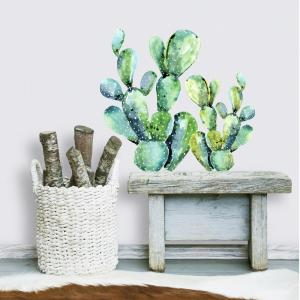 Various Colours /& Sizes Cool Cactus Wall Art Vinyl Decals//Stickers