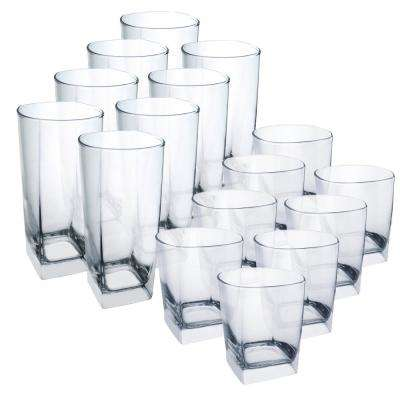Sterling 16-Piece Tumbler Set