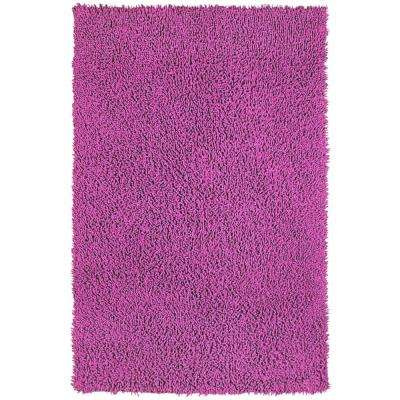 Orchid Shag Chenille Twist 1 ft. 9 in. x 2 ft. 10 in. Accent Rug
