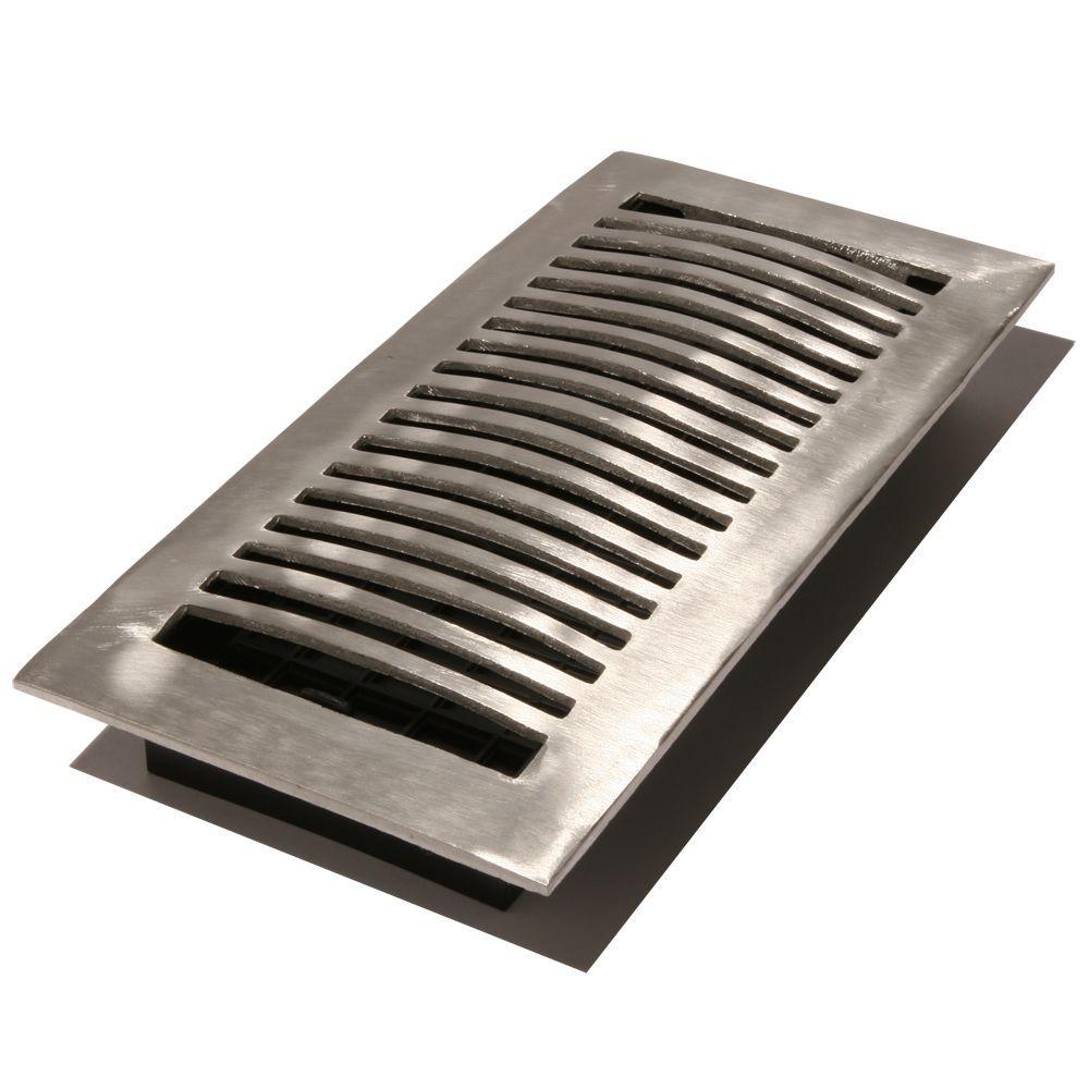 Aluminum floor registers home flooring ideas for Aluminum flooring