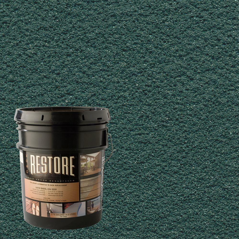 Restore Deck Liquid Armor Resurfacer 4 Gal. Water Based Forest Exterior Coating-DISCONTINUED