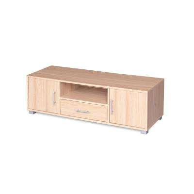 Sorento Oak with 2-Doors Entertainment Cabinet