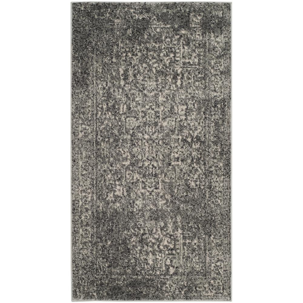 Evoke Gray/Ivory 2 ft. x 4 ft. Area Rug