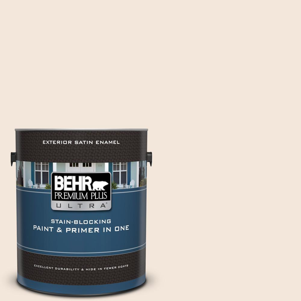 Ecc 55 2 Adobe White Satin Enamel Exterior Paint And Primer In One