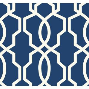 York Wallcoverings Ashford Geometrics Hourglass Trellis Wallpaper by York Wallcoverings