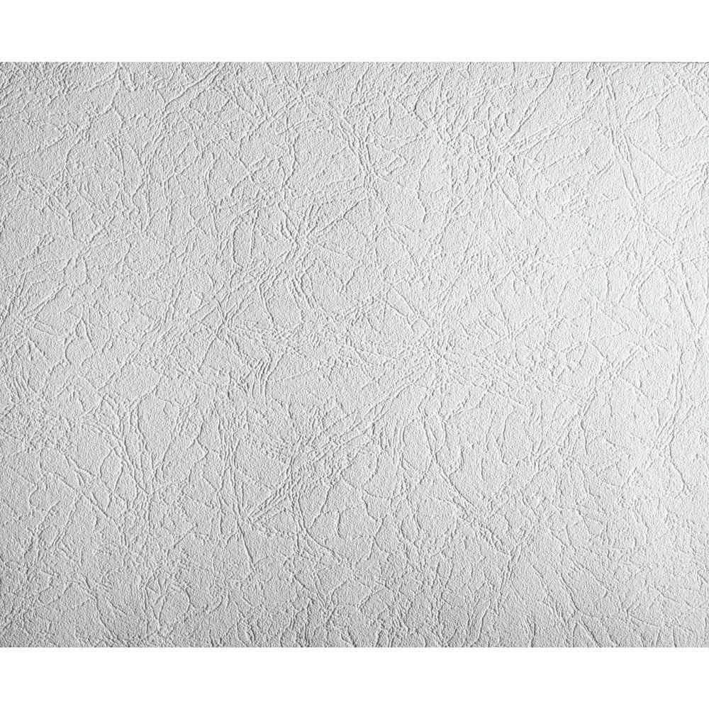 York Wallcoverings 57.75 sq. ft. Patent Decor Aged Plaster Paintable Wallpaper
