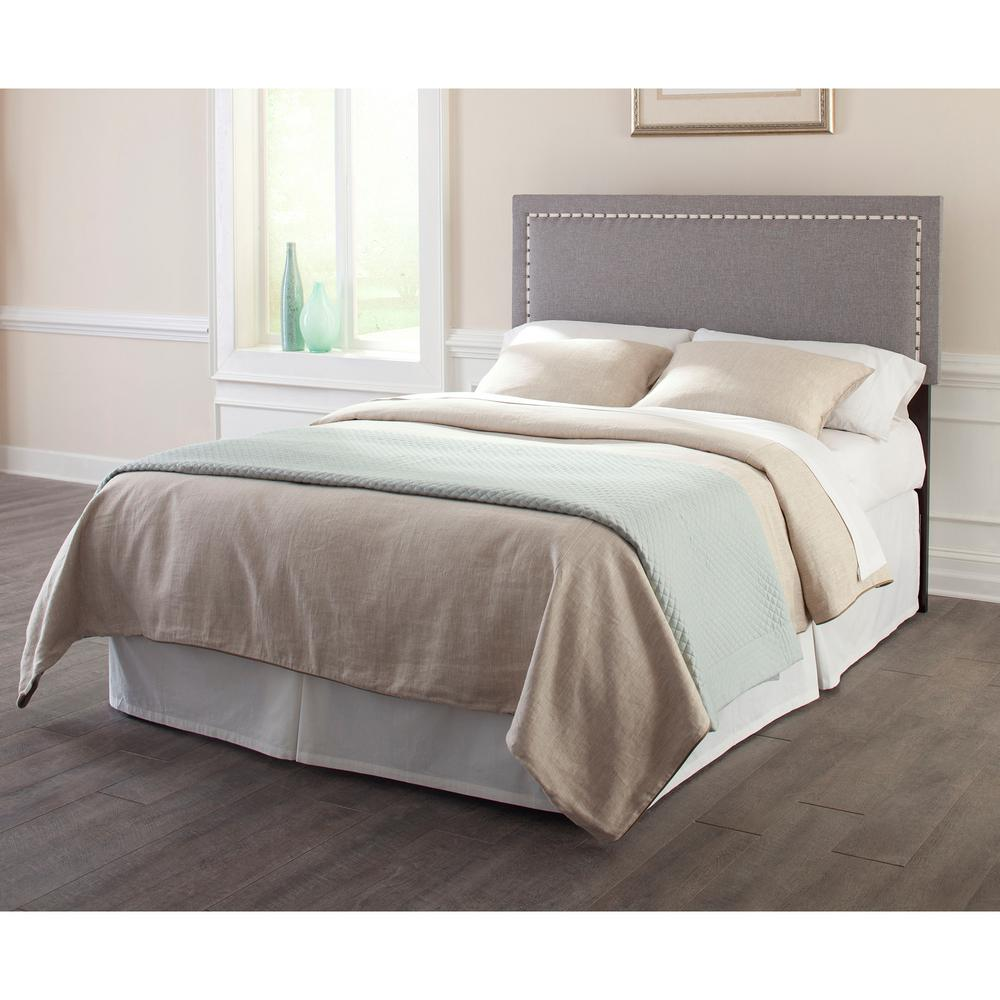 Adjustable Queen Headboard : Fashion bed group wellford full queen size upholstered