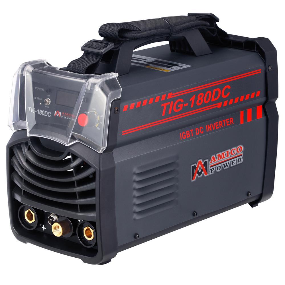 160 Amp HF-TIG Torch Stick Arc DC Welder TIG-165 115//230V Dual Voltage Welding