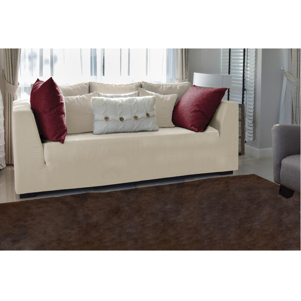 Home Details Ivory Stretch Sofa Slip Cover