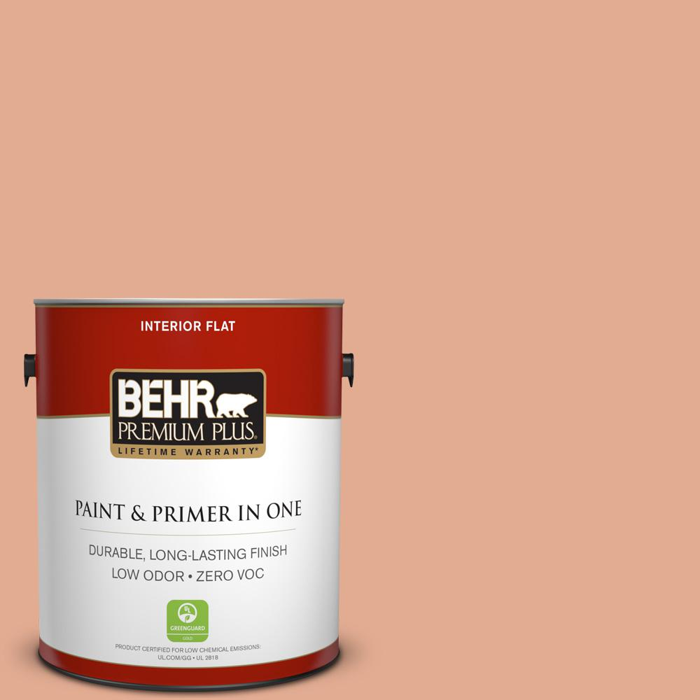 BEHR Premium Plus 1-gal. #M200-4 Coral Cloud Flat Interior Paint