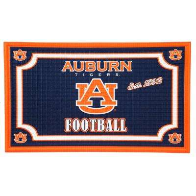 Auburn University 18 in. x 30 in. Embossed Welcome Mat