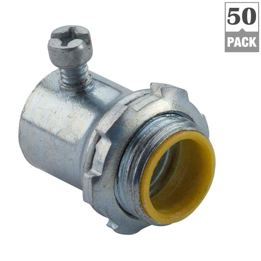 Connector Conduit Fittings Electrical Boxes Home Tube Fuse Box Metalic Emt Set Screw Connectors