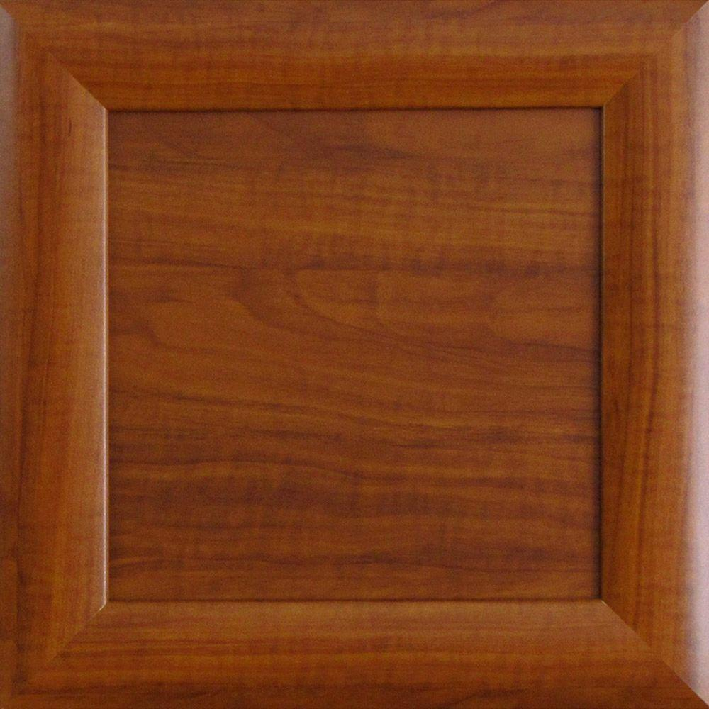 12.75x12.75x.75 in. Dolomiti Ready to Assemble Cabinet Door Sample in Cognac