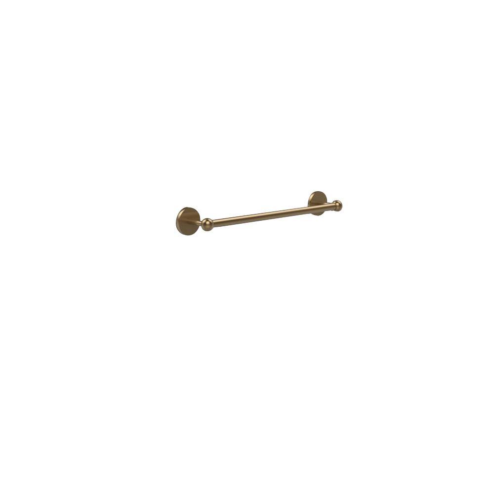 Allied Brass Prestige Skyline Collection 18 in. Back to Back Shower Door Towel Bar in Brushed Bronze