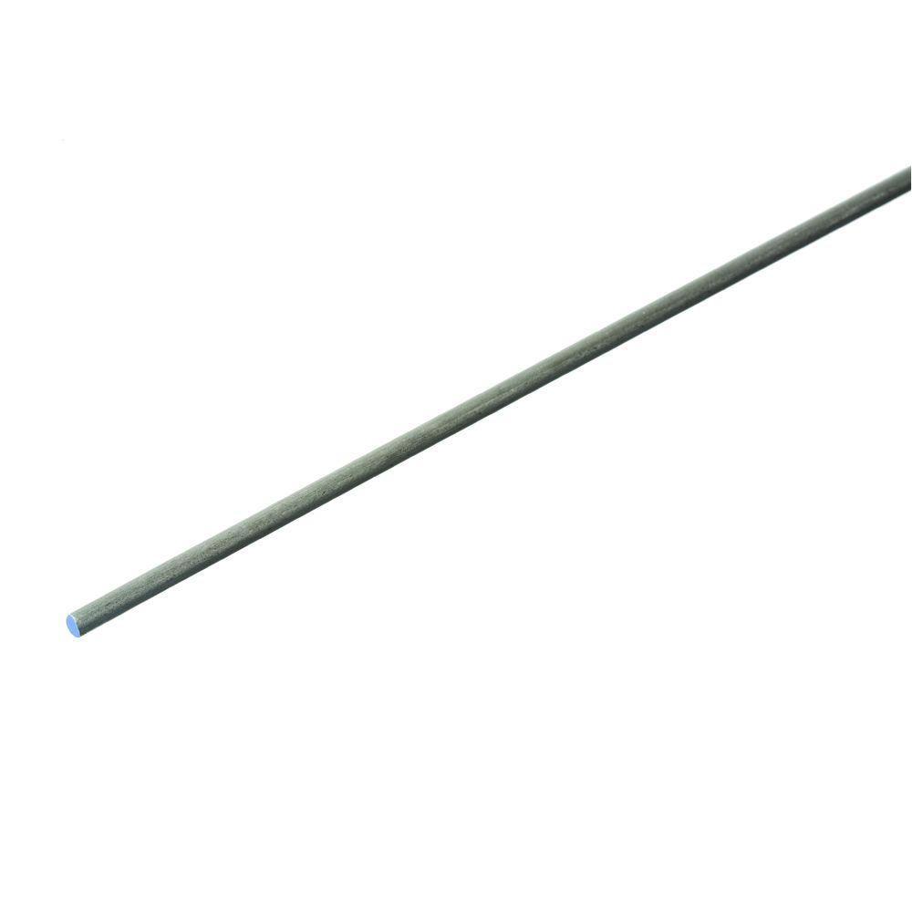 Everbilt 1/8 in. x 36 in. Plain Steel Cold Rolled Round Rod-801547 ...