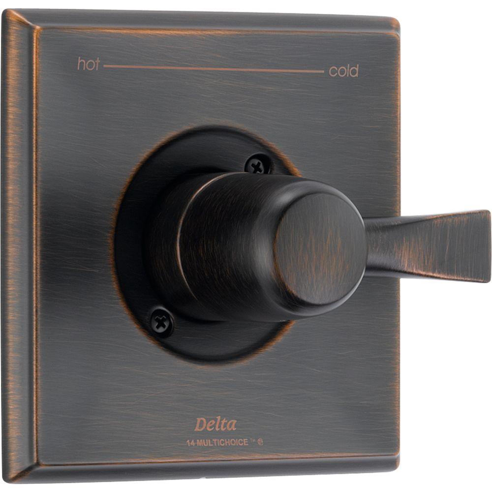 Dryden 1-Handle Diverter Valve Only Trim in Venetian Bronze (Valve Not Included)