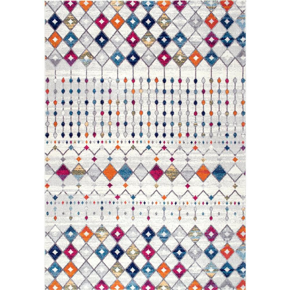 Nuloom Blythe Moroccan Transitional Multi 8 Ft X 10 Ft