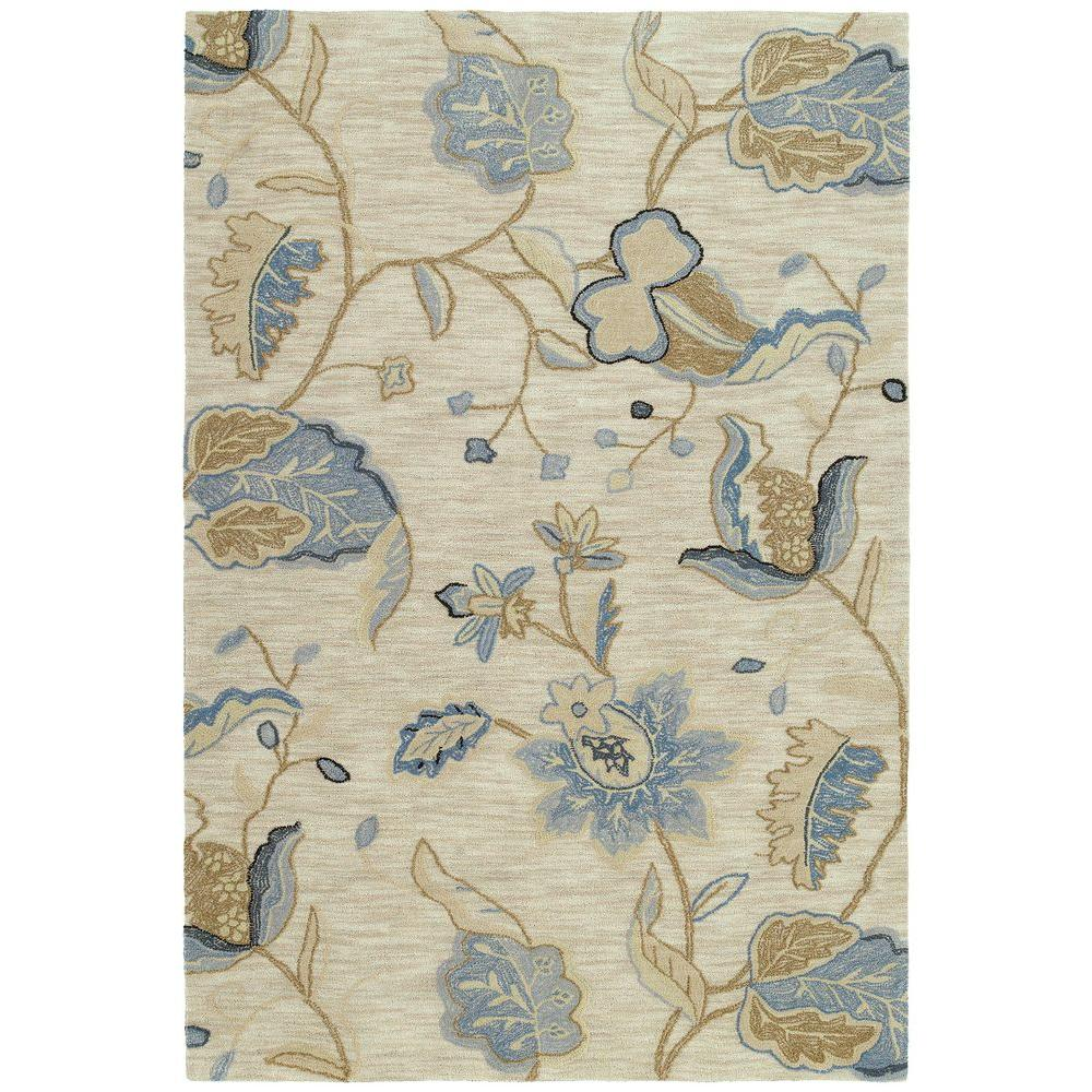 Kaleen Inspire Spectacle Blue 5 ft. x 7 ft. 6 in. Area Rug