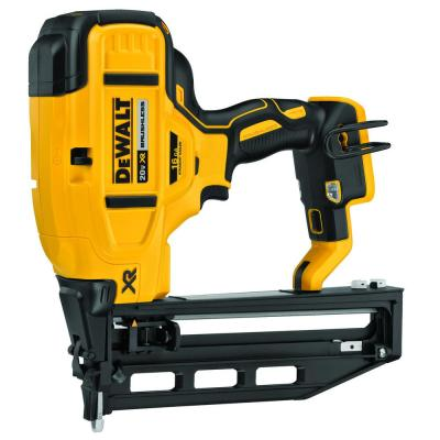 20-Volt MAX XR 16-Gauge Lithium-Ion Cordless Finish Nailer (Tool-Only)