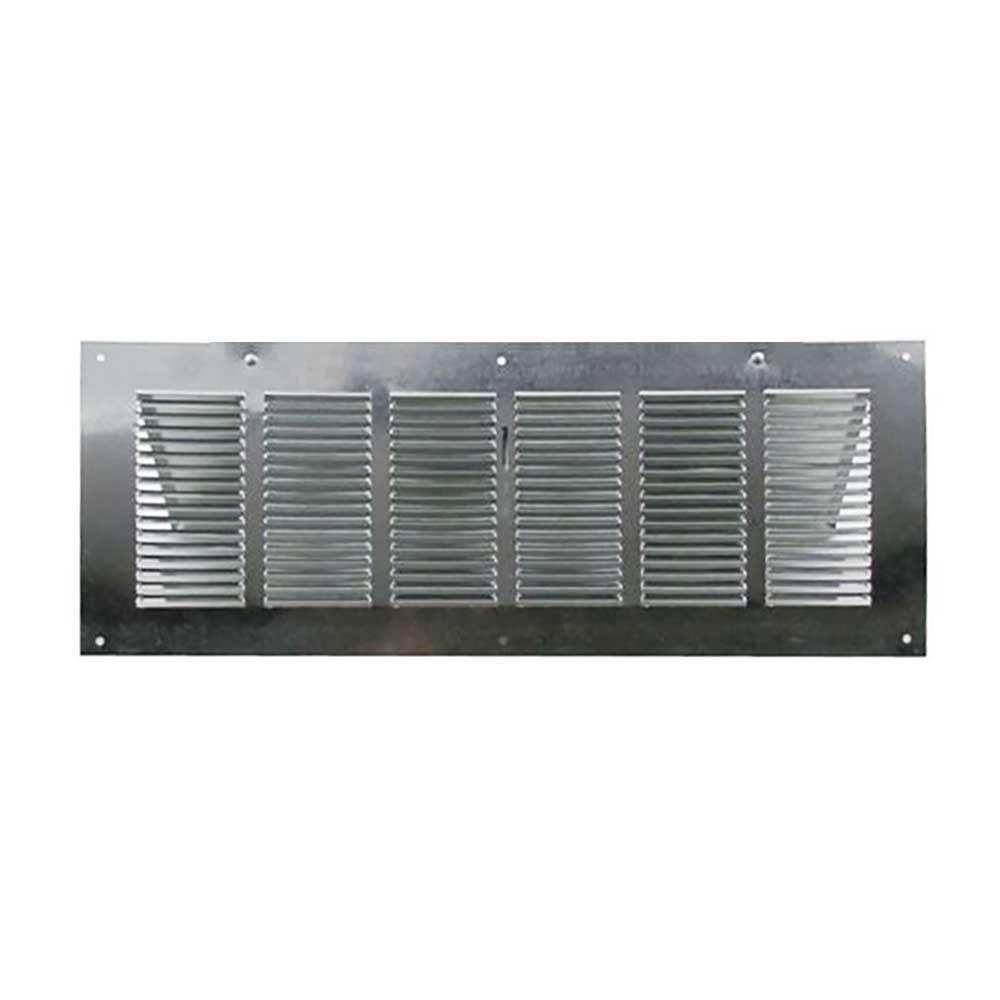 """Aluminum 16"""" X 8"""" Foundation Vent //Adj Damper GAF Master Flow LW1L"""