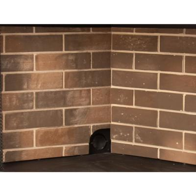 Firebrick Panel Set for 36 in. Zero Clearance Ventless Dual Fuel Fireplace Insert