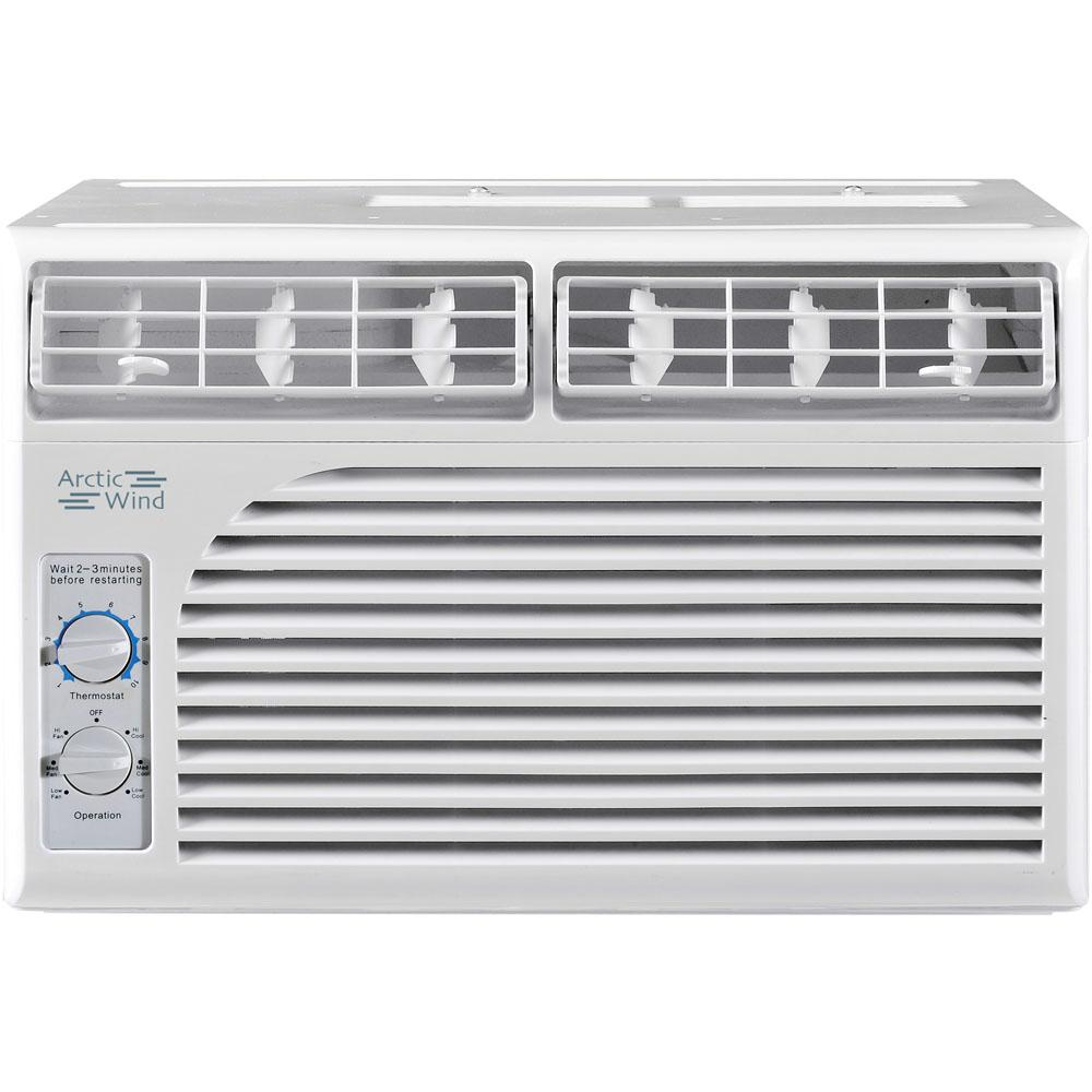 Arctic Wind 5 000 Btu Window Air Conditioner With