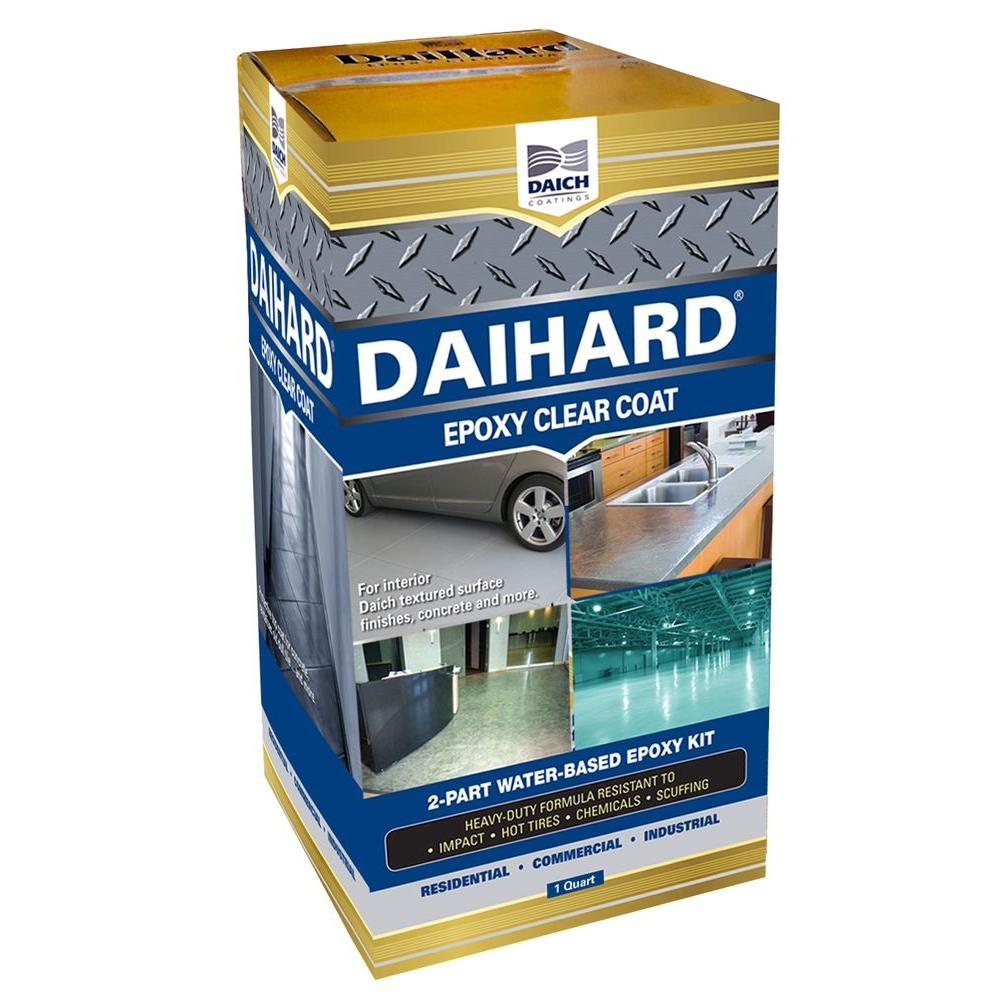 DAICH DaiHard 1 Qt. Epoxy Coating Clear Gloss Kit-DC-ECC