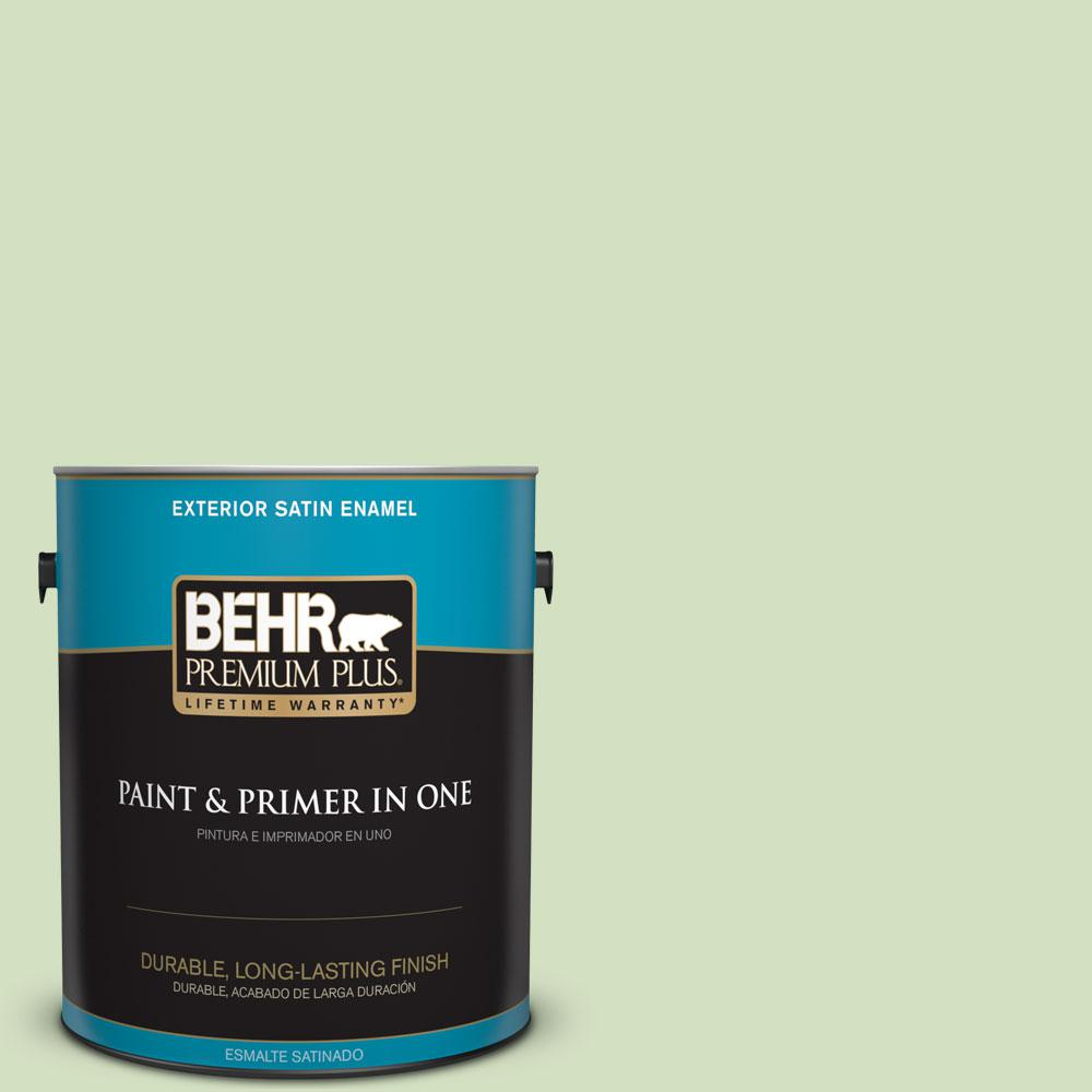 BEHR Premium Plus 1-gal. #P380-3 Irish Folklore Satin Enamel Exterior Paint