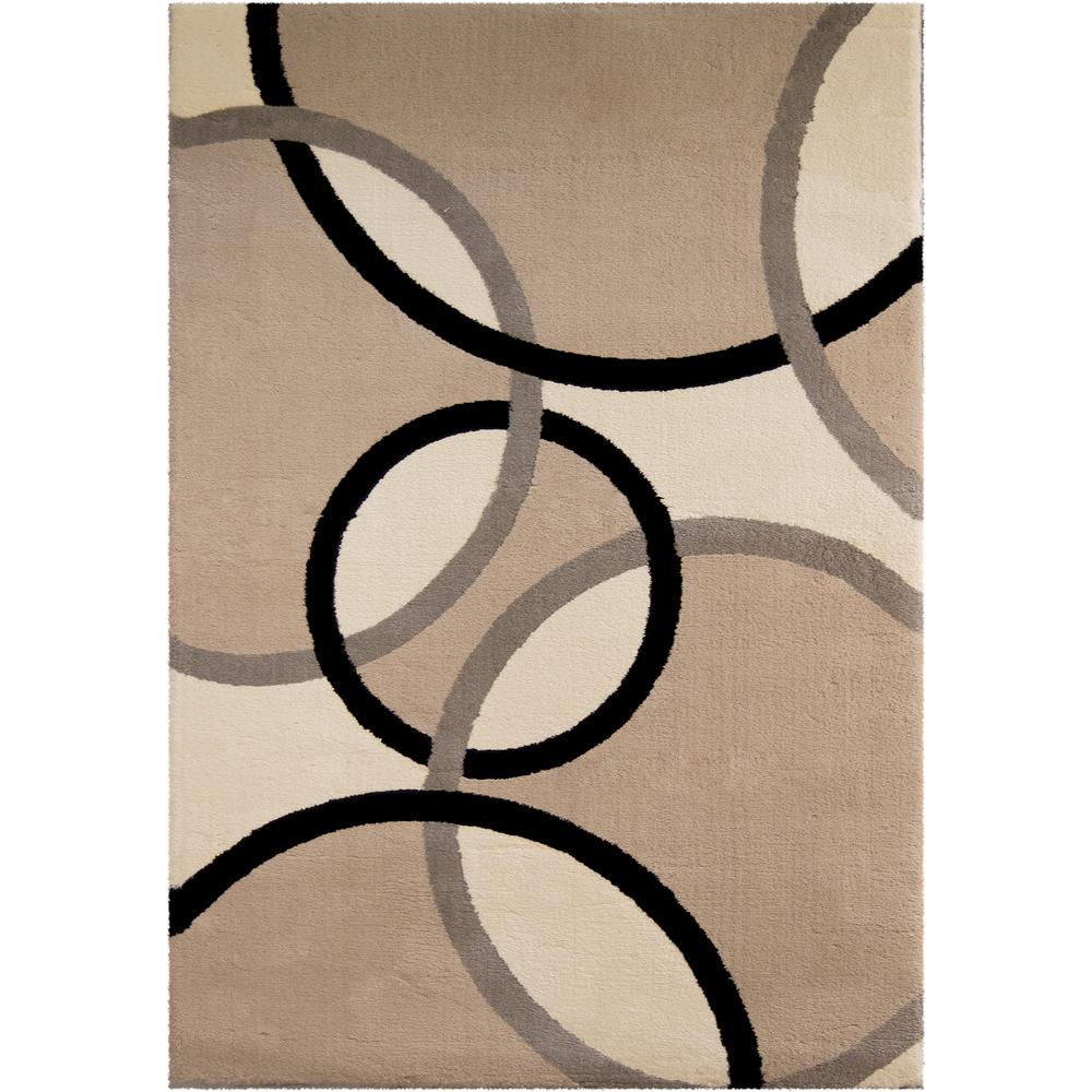Orian Rugs Justin Flax 5 ft. 3 in. x 7 ft. 6 in. Indoor Area Rug