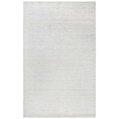 Grand Haven Light Gray 5 ft. x 8 ft. Rectangle Area Rug