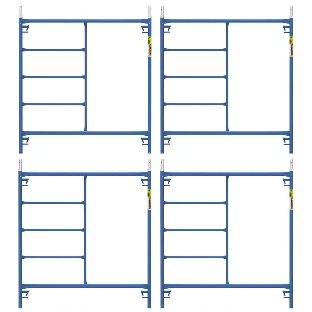 Saferstack 5 ft. x 5 ft. x Mason Scaffold Frame (4-Pack)