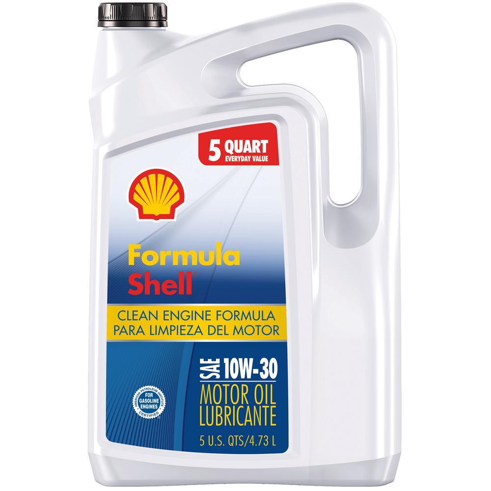 10W-30, 5 Qt. Clean Engine Formula Conventional Motor Oil