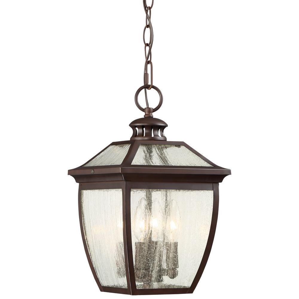 Sunnybrook 4-Light Alder Bronze Hanging Light