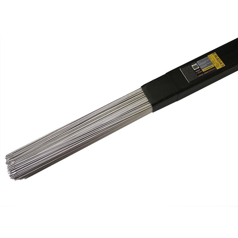 ER4043 3/32 in. Thunder Rod TIG Filler 11 lb. Wire