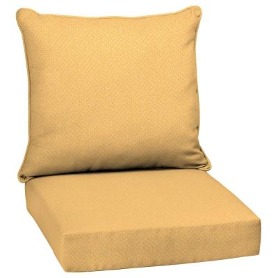 Yellow Outdoor Chair Cushions