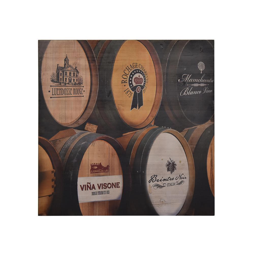 Himla Vintage Wine Wooden Wall Art