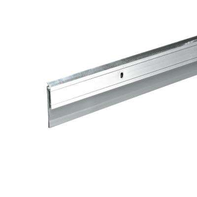 E/O 2 in. x 36 in. Silver Heavy-Duty Aluminum and Vinyl Door Sweep