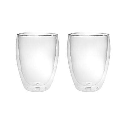 Haus 12 oz. Double Wall Glass tumblers (Set of 2)