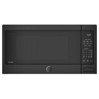 2.2 cu. ft. Countertop Microwave in Black with Sensor Cooking