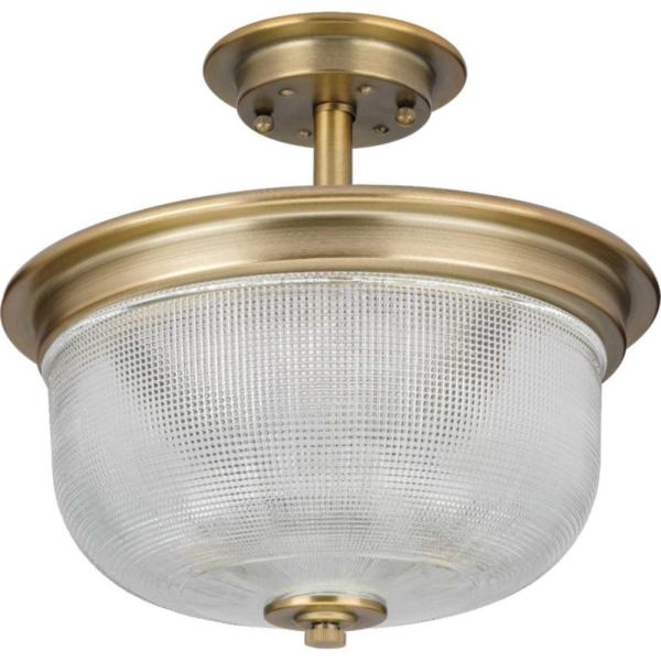Archie 11-3/8 in. 2-Light Semi-Flush Mount Convertible