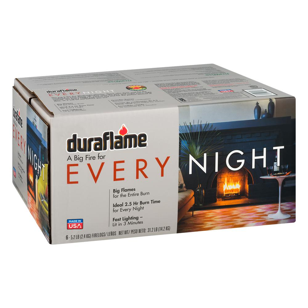 Every Night 5.2 lbs. Firelogs (6-Pack)