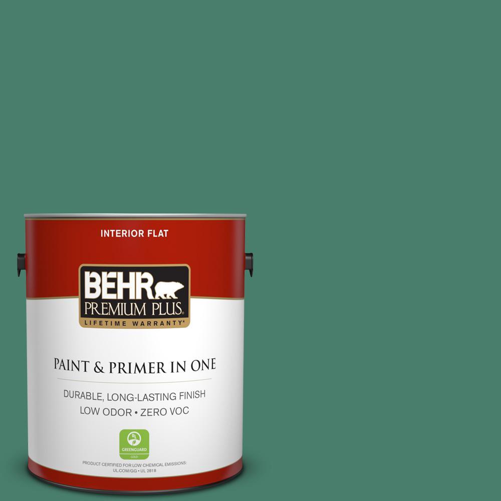 BEHR Premium Plus 1-gal. #M430-6 Park Bench Flat Interior Paint
