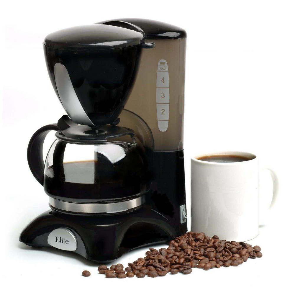 Elite 4-Cup Coffee Maker-EHC-2022