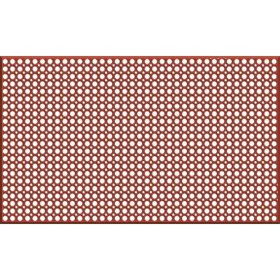 Grease Resistant 36 in. x 60 in. Commercial Rubber Drain Mat