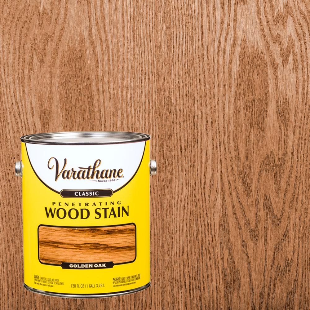 Varathane 1 gal. Golden Oak Classic Wood Interior Stain