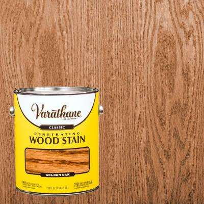 1 gal. Golden Oak Classic Wood Interior Stain